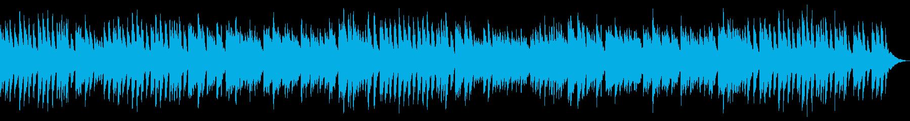 ピアノの練習シーン等に最適なピアノソロの再生済みの波形