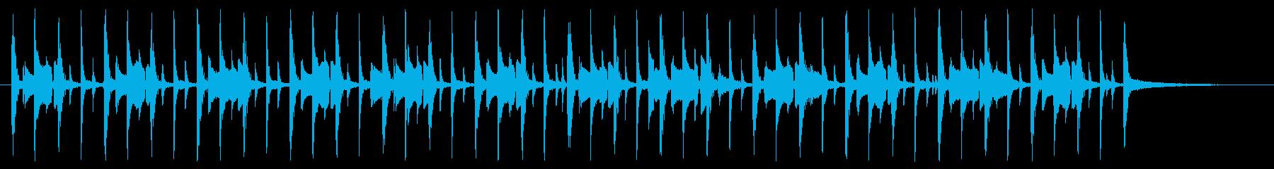 使いやすいファンク 30秒ベース無し版の再生済みの波形