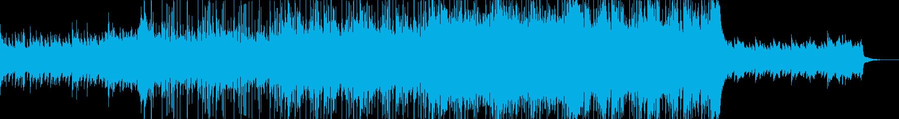 クラップが爽やかなアコースティックBGMの再生済みの波形