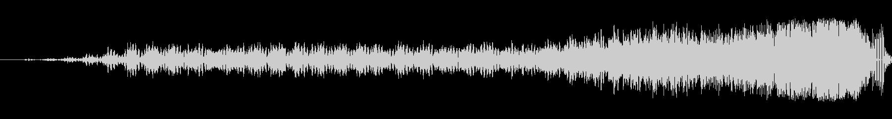 細いスワイプ5の未再生の波形