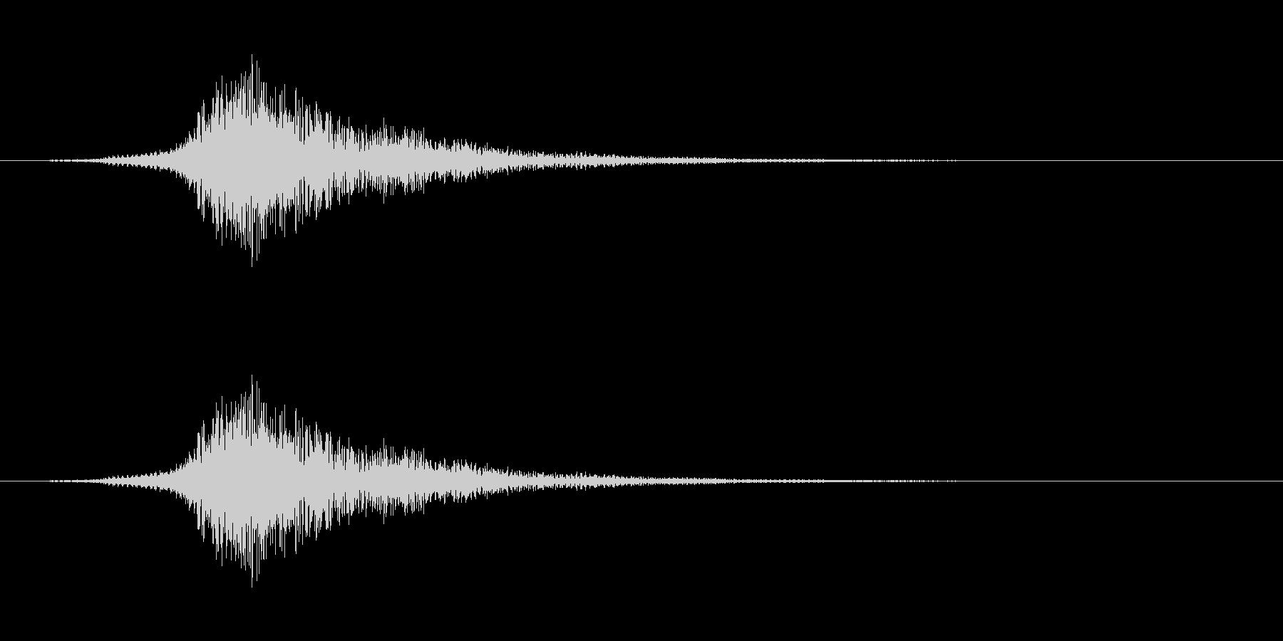 シューッという音EC02_60_2の未再生の波形
