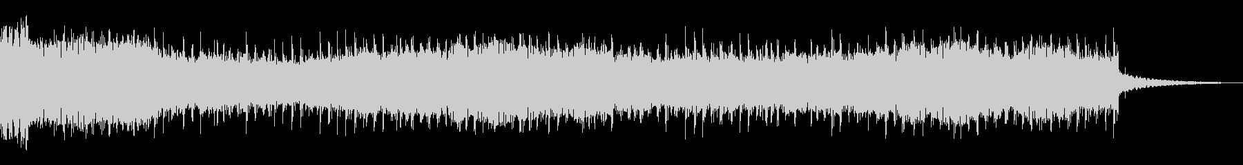 ドローンベッドの未再生の波形
