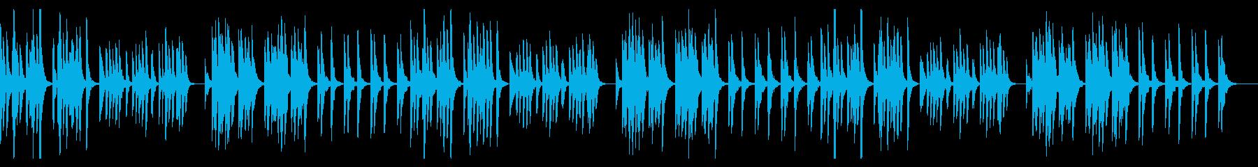 ダークでコミカルでシンプル、すこしかわいの再生済みの波形