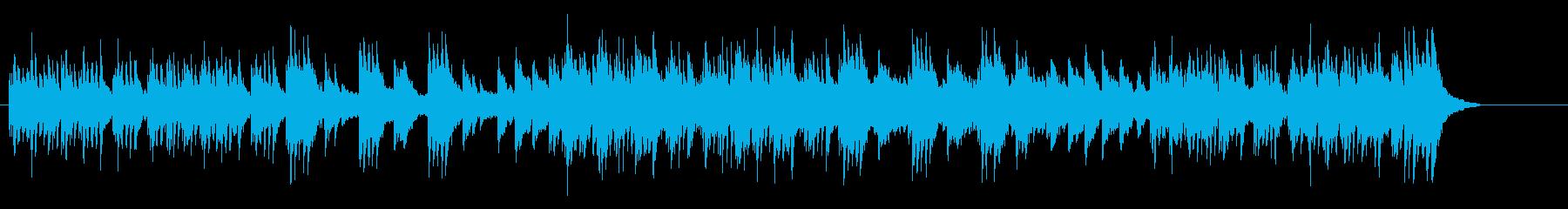 優しく軽やかなナチュラルポップスの再生済みの波形