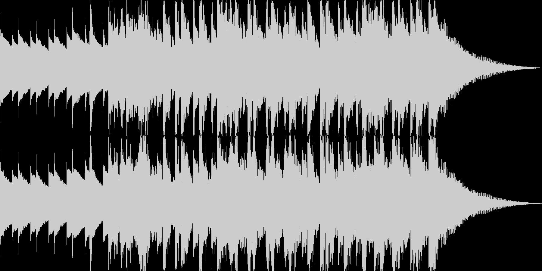 明るくハッピーでリズミカル15秒の未再生の波形