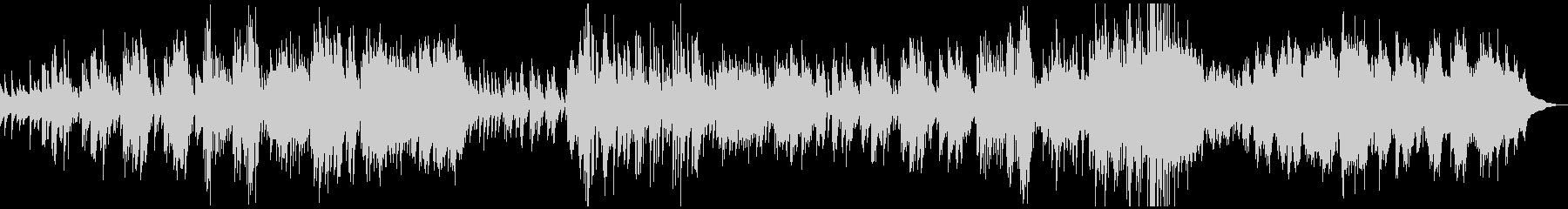 クラシックピアノ塔ドビュッシー壮大神秘的の未再生の波形