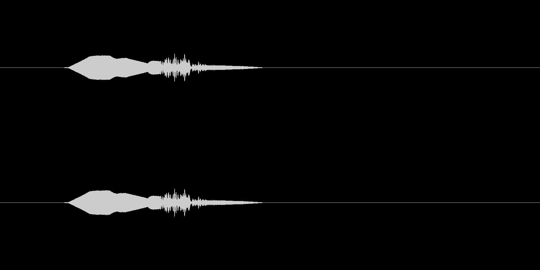 【ポップモーション25-4】の未再生の波形