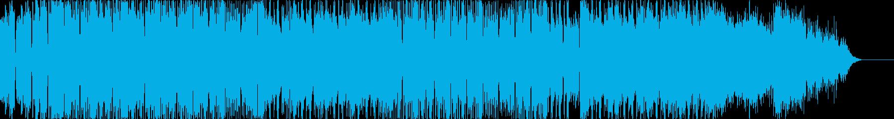 ロックエレクトロニック サスペンス...の再生済みの波形