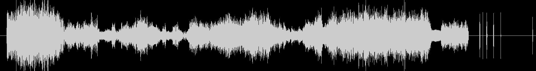 イメージ ボーカルグリッチ02の未再生の波形
