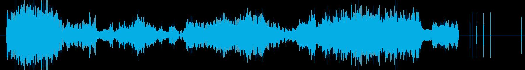 イメージ ボーカルグリッチ02の再生済みの波形