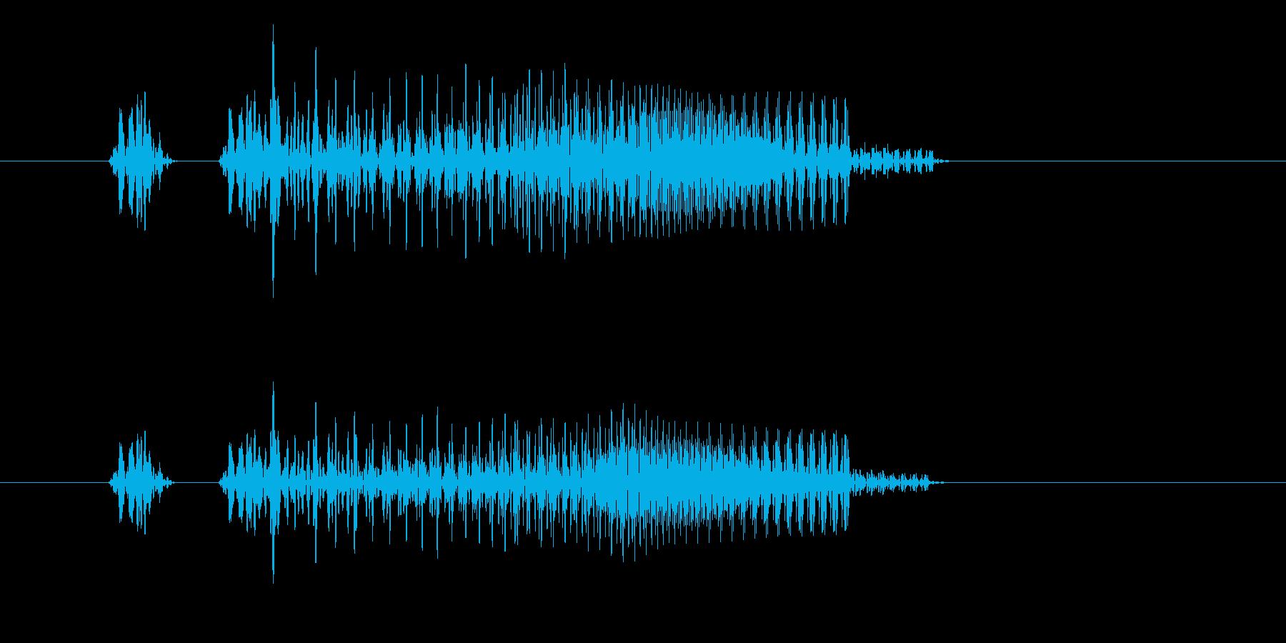 「プニ!ポヨン!」可愛い足音などに!04の再生済みの波形