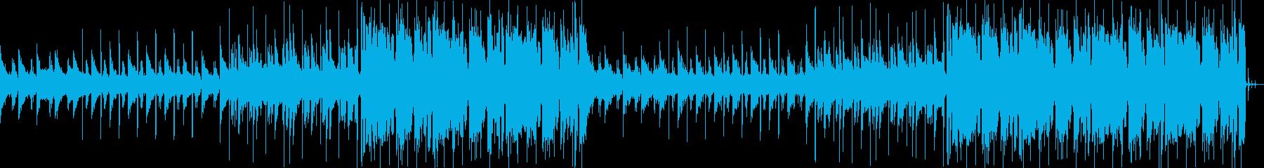 ポップ テクノ フューチャ ベース...の再生済みの波形