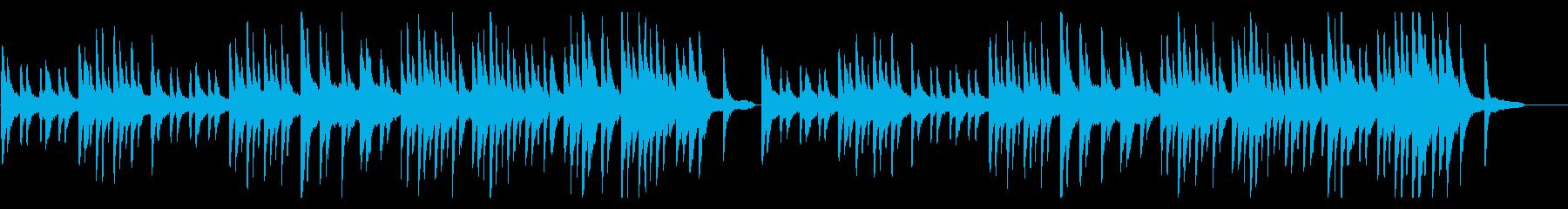 サティ ジムノペディ1番 ヒーリングの再生済みの波形