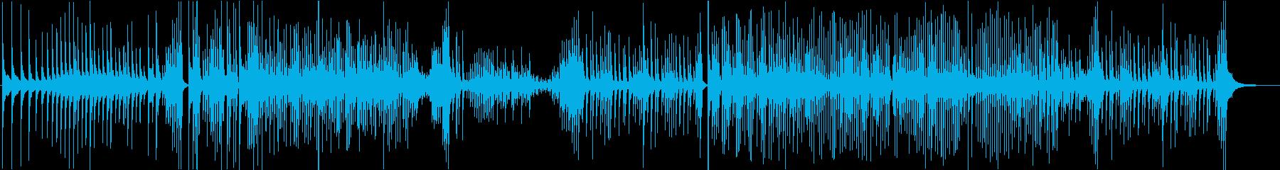 津軽三味線ソロ-C、激しい、疾走、声なしの再生済みの波形