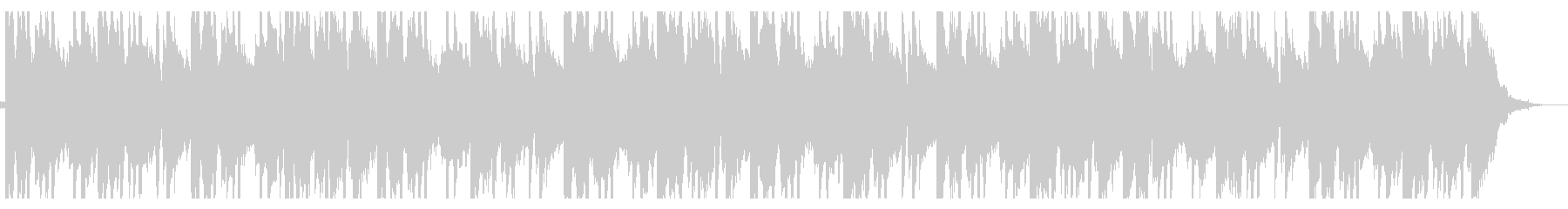 ラジオ/ローファイ_No396_3の未再生の波形