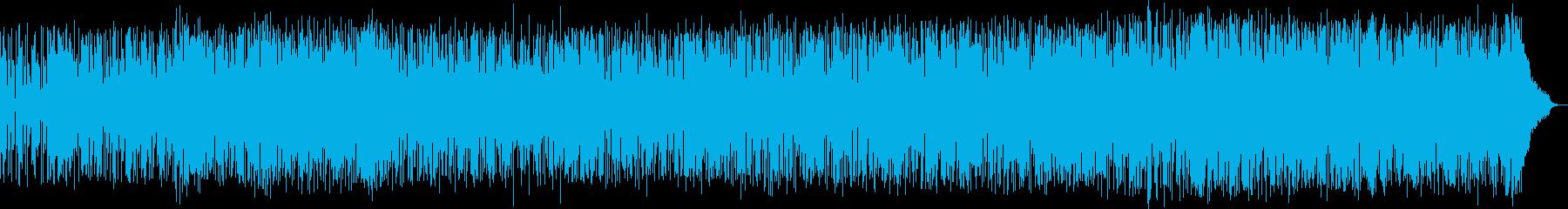 爽やかに幸せを表現するファンク・ロックの再生済みの波形