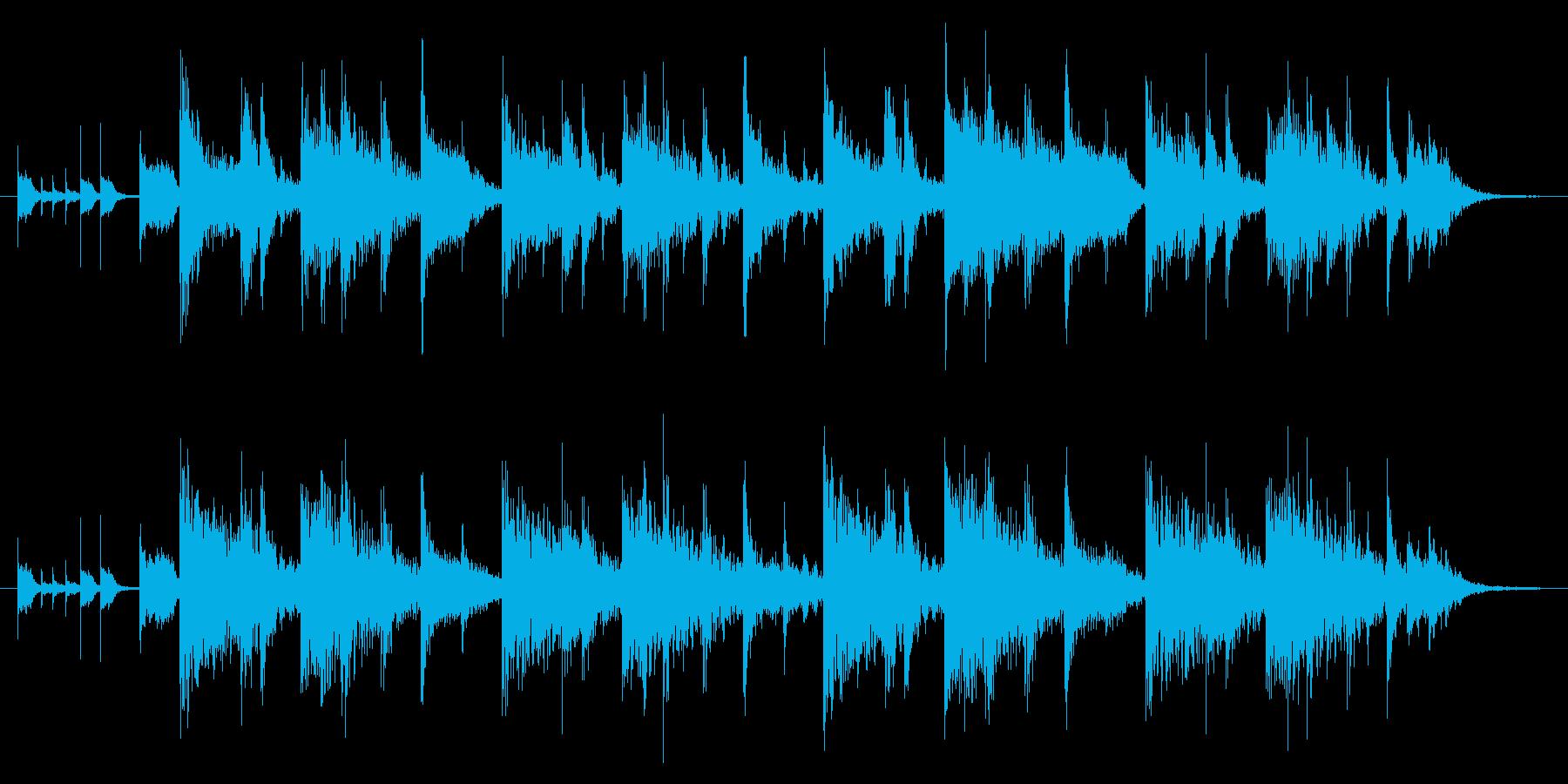 ファンク/ギター/ラジオ/ジングルの再生済みの波形