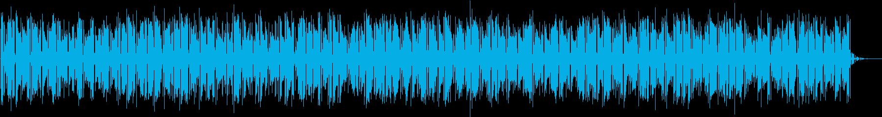 シーケンス Glitchyベースシ...の再生済みの波形