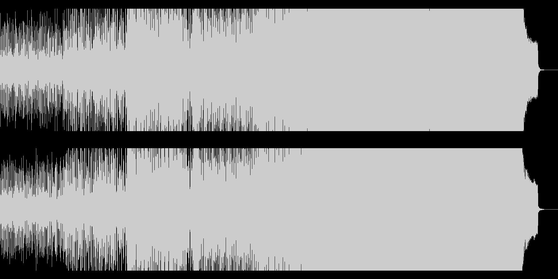 ハウス ダンス プログレッシブ 未...の未再生の波形