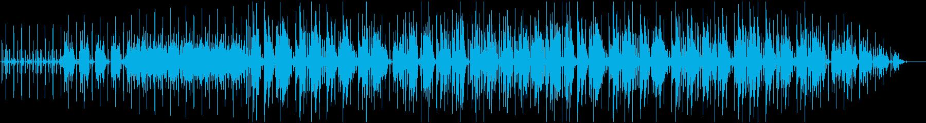 ピアノで大人なJazzyヒップホップの再生済みの波形