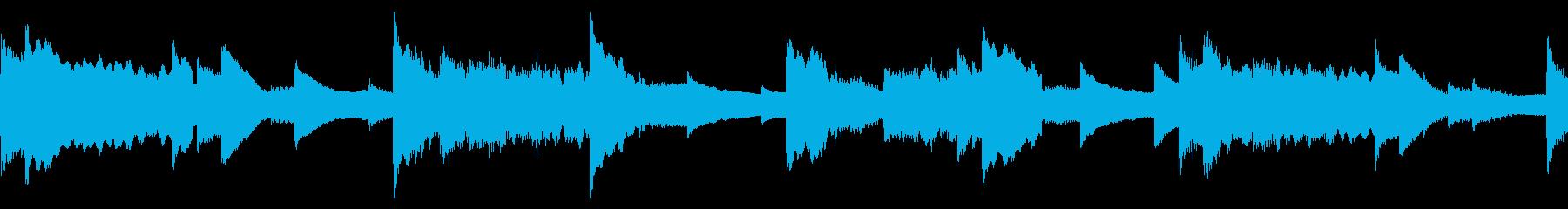 フルートが奏でる優しく温かいメロディーの再生済みの波形