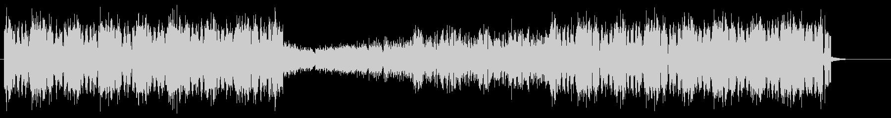 ワブルベースが特徴的なエレクトロハウスの未再生の波形