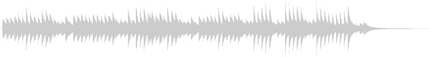 童謡・うれしいひなまつりピアノBGM①の未再生の波形