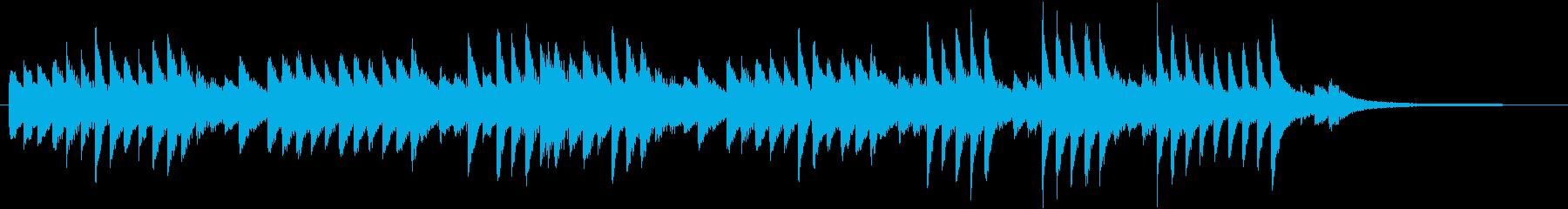 童謡・うれしいひなまつりピアノBGM①の再生済みの波形