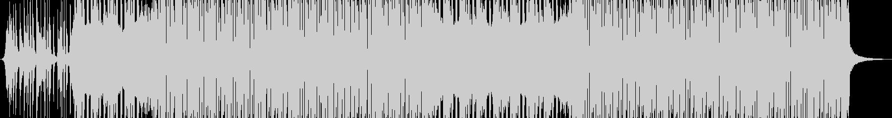 レトロなスタイルのダンスギターファンクの未再生の波形