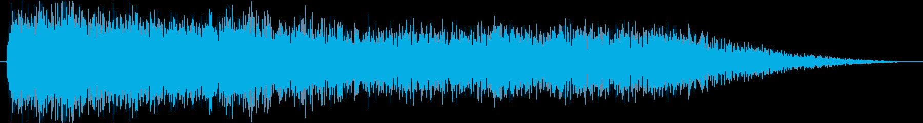 異空間_怪物の声の再生済みの波形