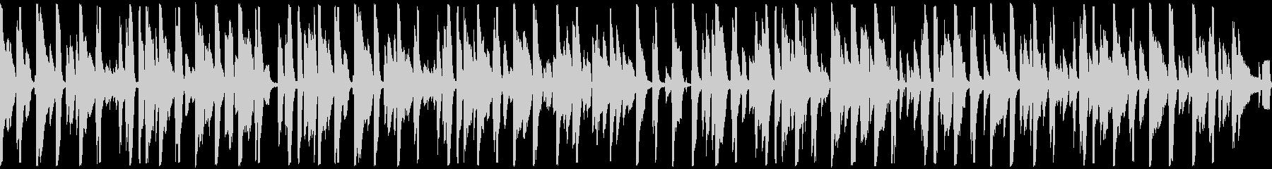 お洒落なピアノジャズファンク ループの未再生の波形