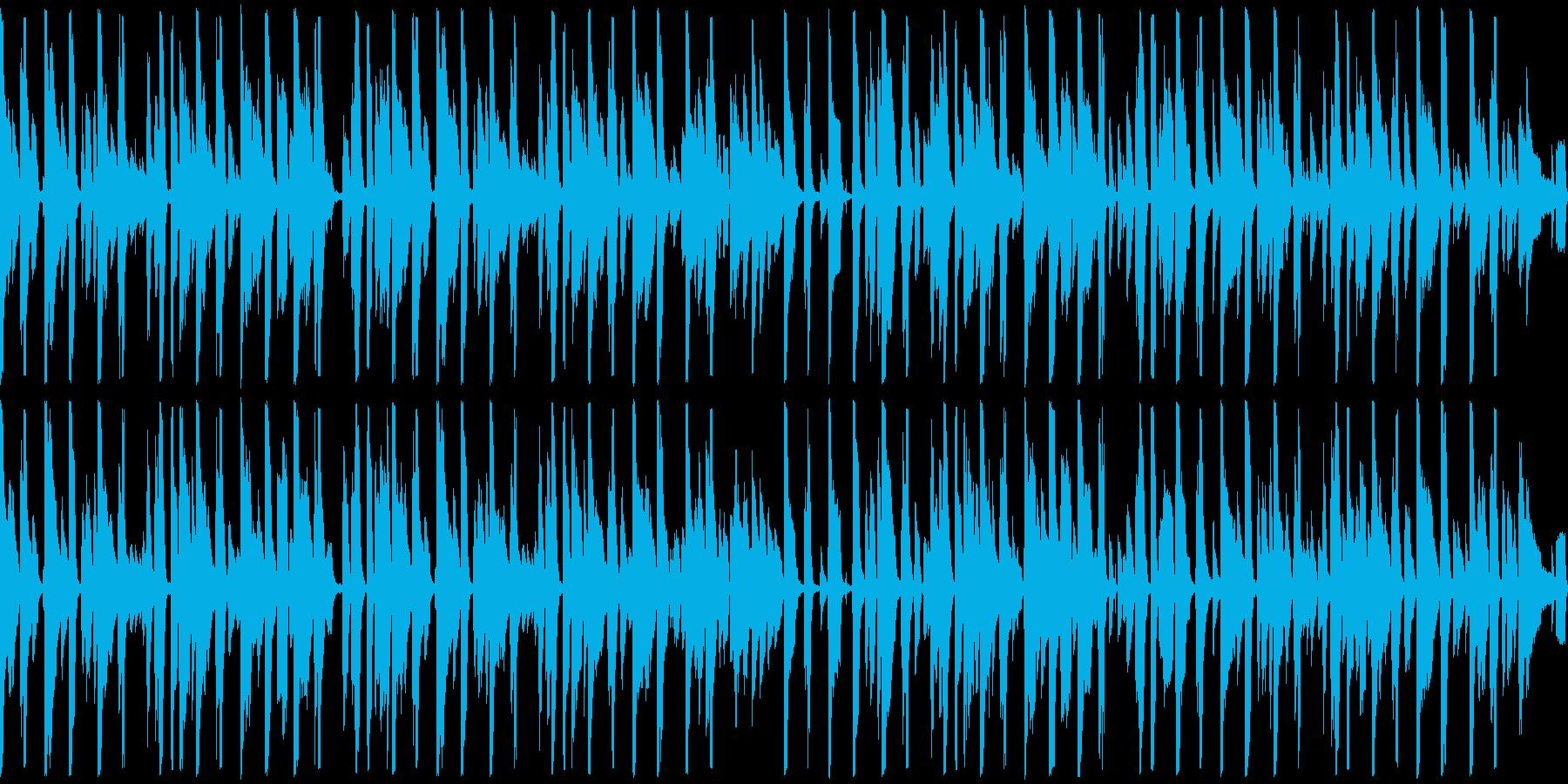 お洒落なピアノジャズファンク ループの再生済みの波形