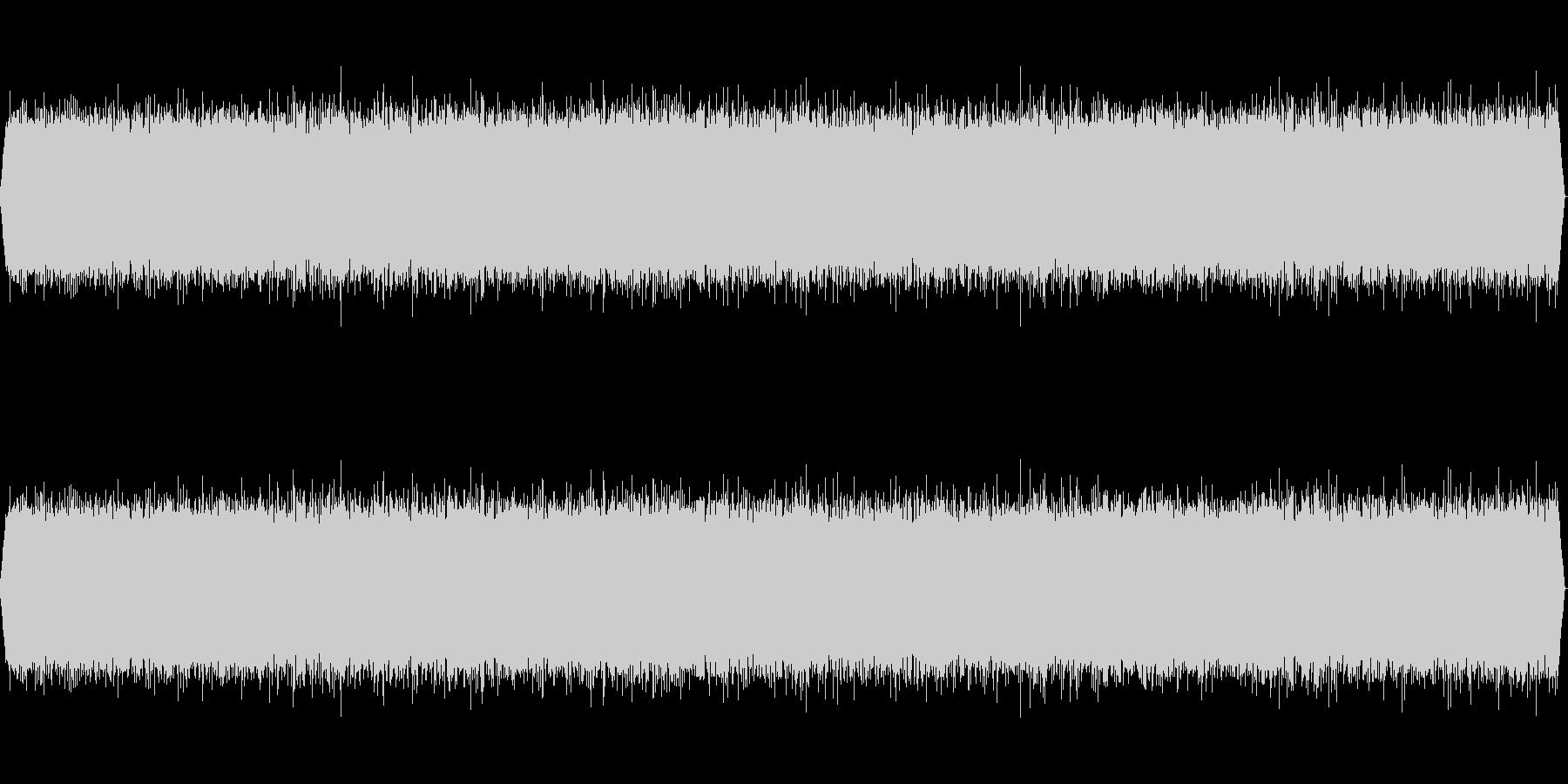 【ザー】ホワイトノイズの未再生の波形