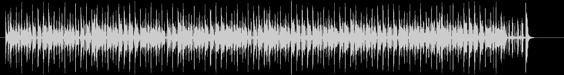 わくわく感のあるシンセサイザーサウンドの未再生の波形
