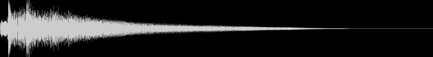 テュルルン:シリアスなハープ・弾くgの未再生の波形