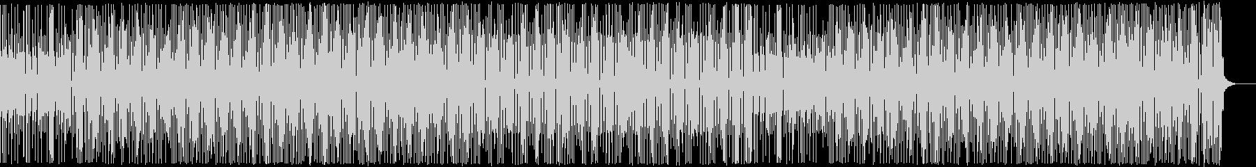 三味線・お江戸・和風テクノ・かけ声なしの未再生の波形