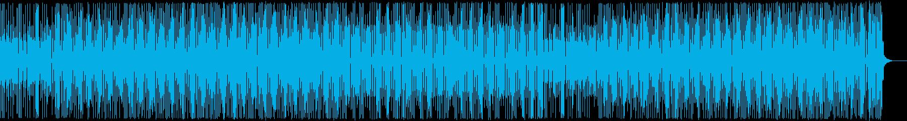 三味線・お江戸・和風テクノ・かけ声なしの再生済みの波形