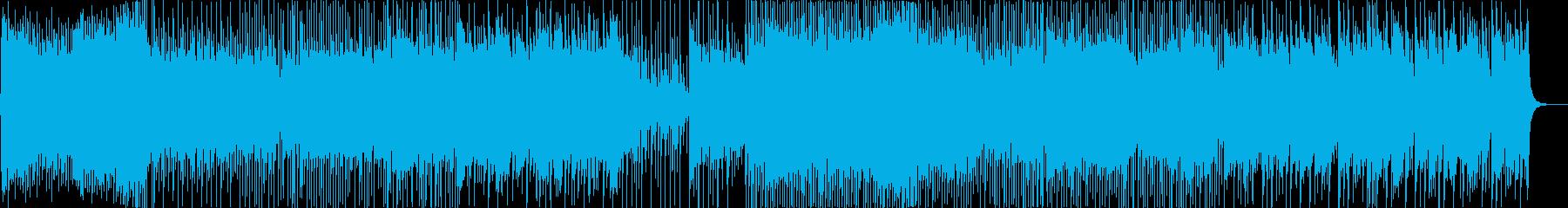 クールで近未来EDM和風ダブステップ2Sの再生済みの波形