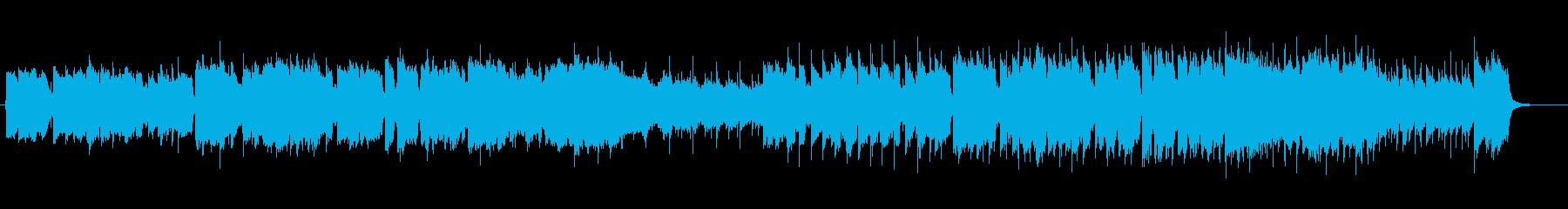 爽やかなケルト系アコースティックの再生済みの波形