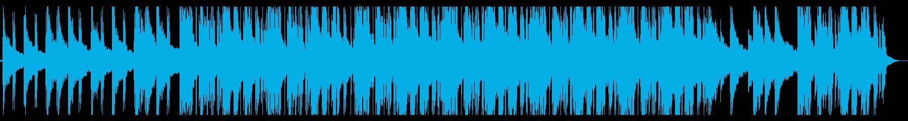 寂しい/ローファイ_No413の再生済みの波形