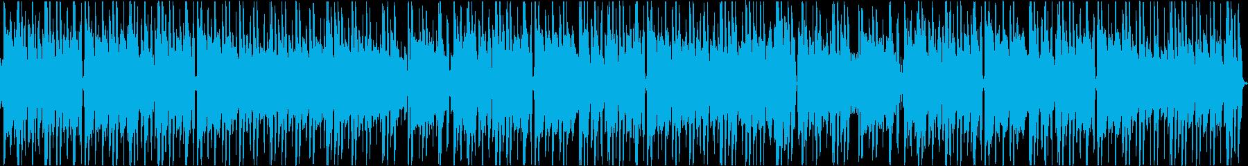 チルなギターの大人なネオソウルトラックの再生済みの波形