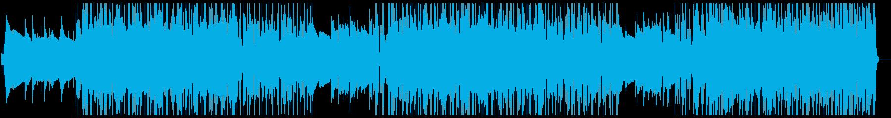 爽やかなゆったりとしたR&B風バラードの再生済みの波形