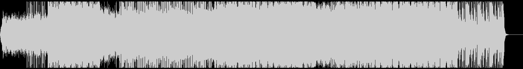 スペーシーなシンセ曲の未再生の波形