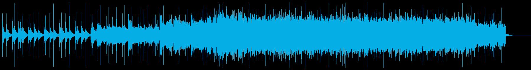 CM向けロックアンセム 声タンバリン無の再生済みの波形
