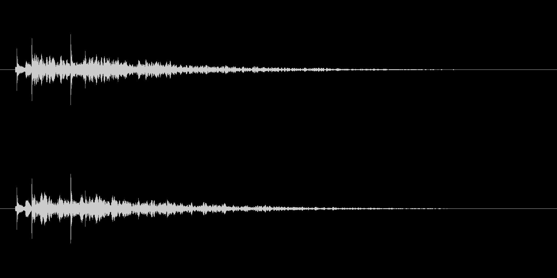 【アクセント37-2】の未再生の波形