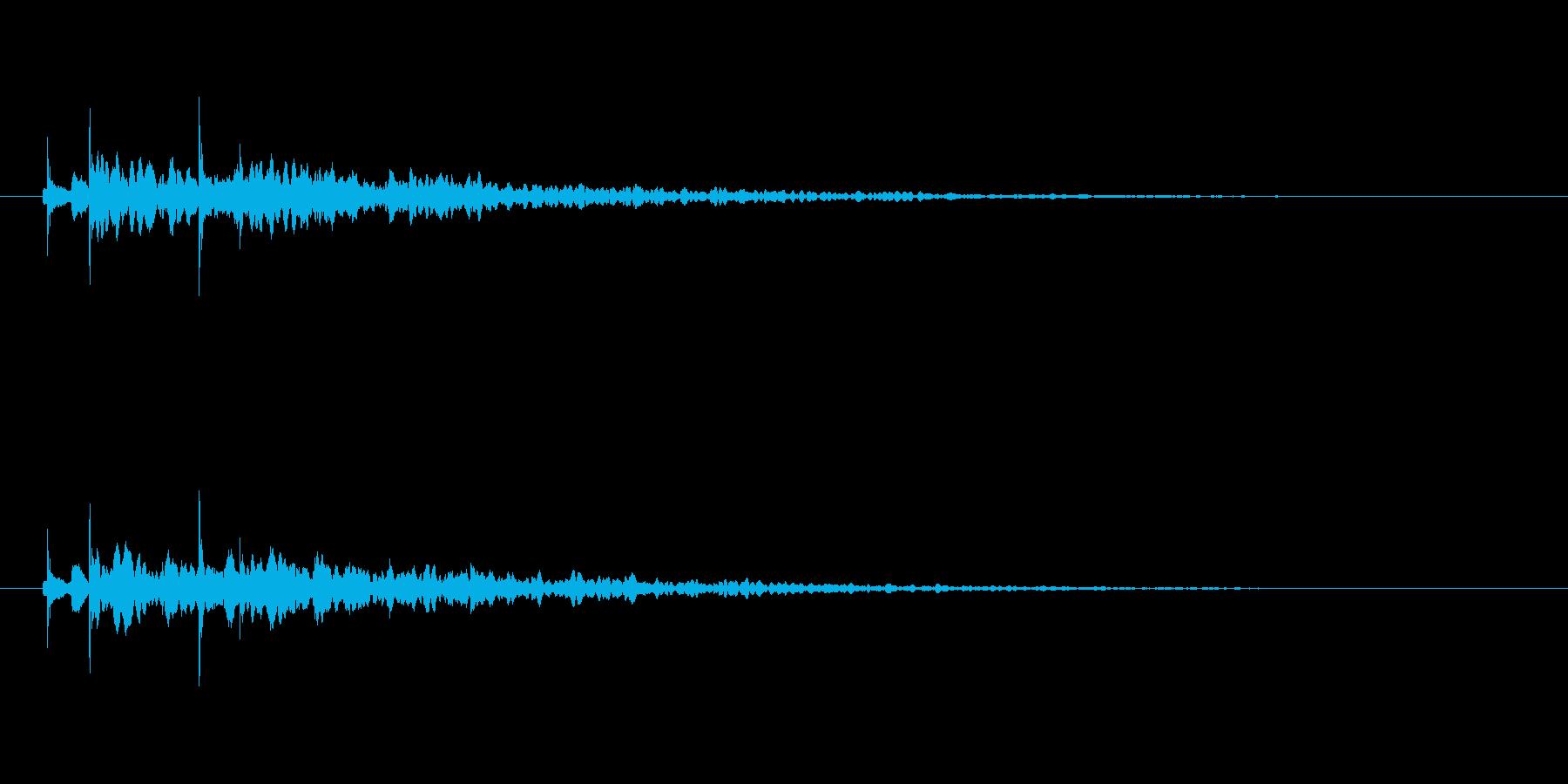 【アクセント37-2】の再生済みの波形