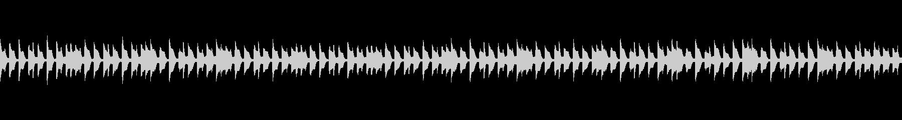 ほのぼのとした日常系ジングル3(ループ)の未再生の波形