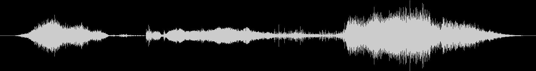 鳴き声 男性のストレッチ03の未再生の波形