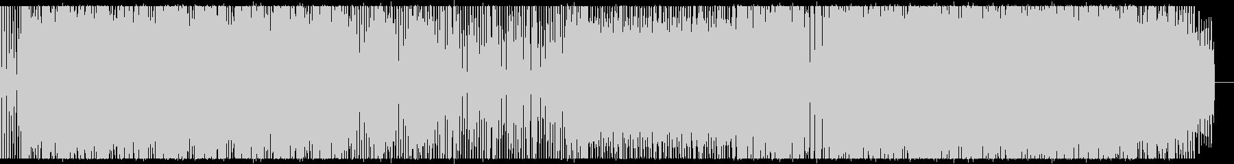 メロディアスなDeep Houseの未再生の波形