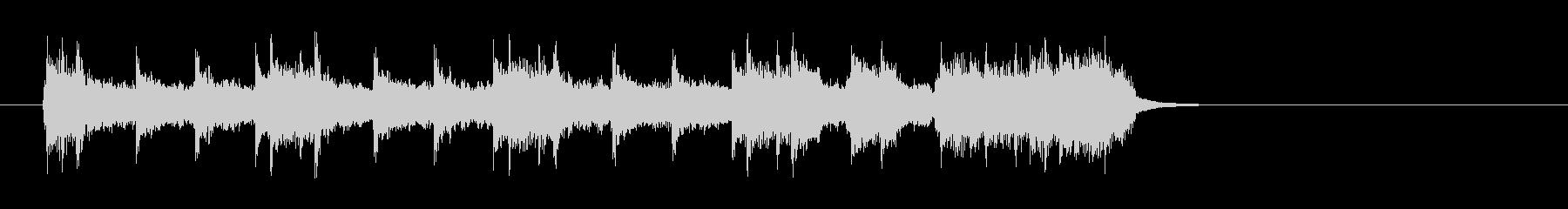 アメリカンロック/ポップ(イントロ)の未再生の波形